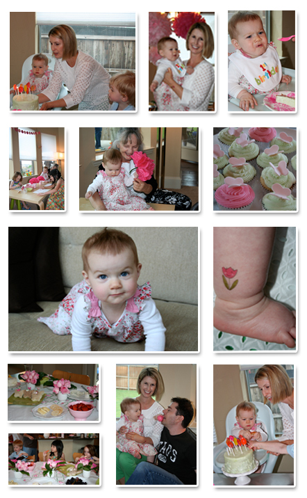 Jenna's First Birthday