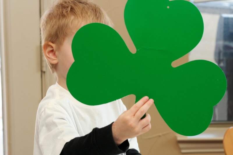 Jason and the Giant Shamrock