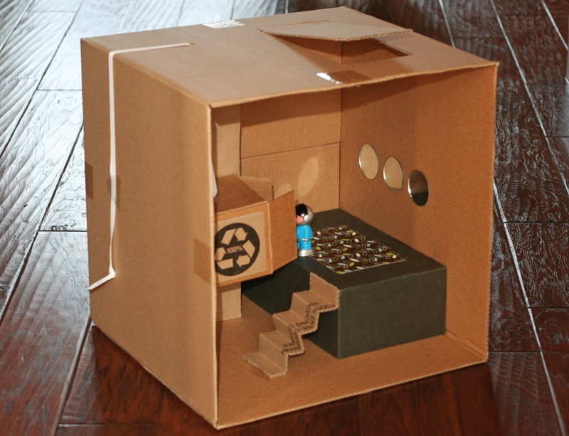 Diy elevator dollhouse warm hot chocolate for Diy home elevator plans