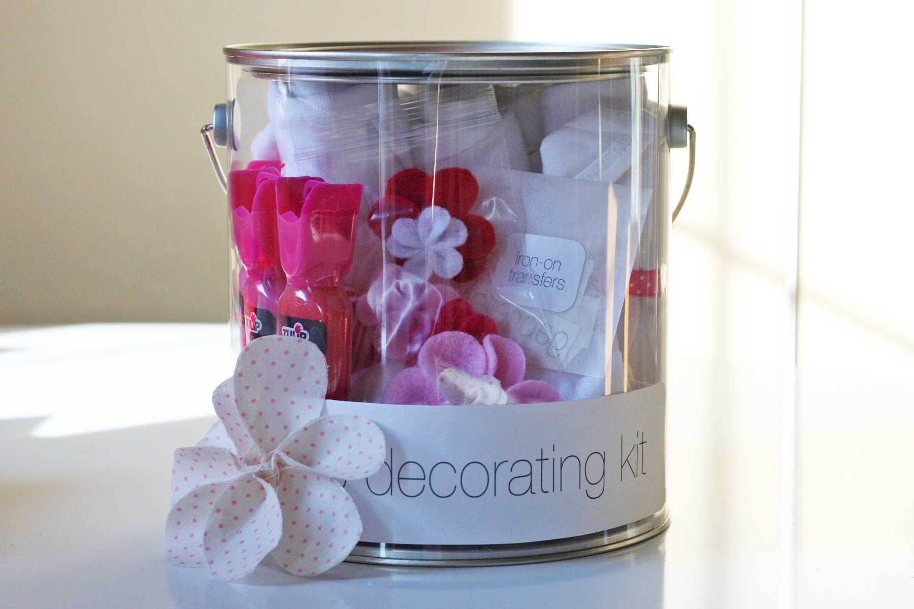 gift idea onesie decorating kit warm hot chocolate