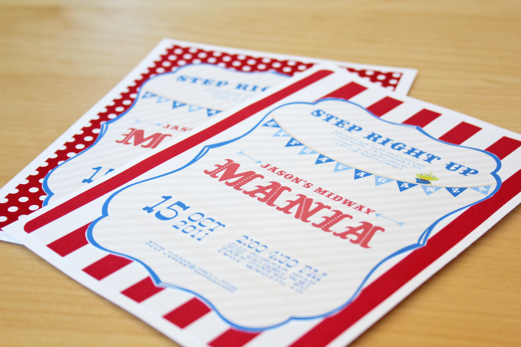 Toy Story Mania Party Printables