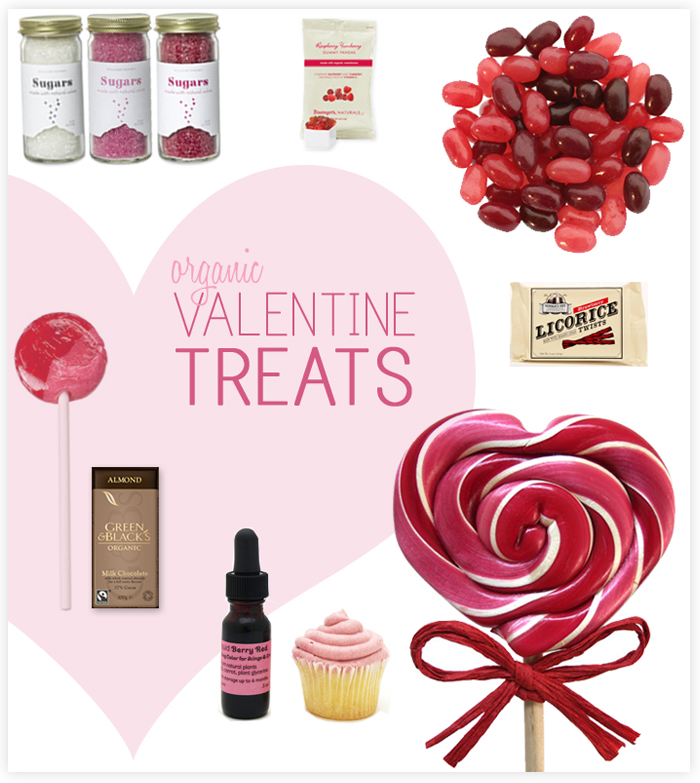 organic valentine treat