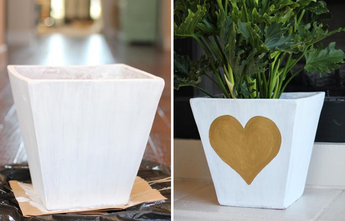 heart pot