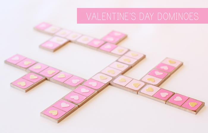 Valentine's Day Dominoes Gift Idea