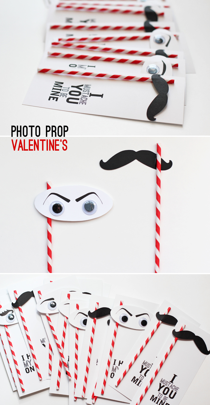 photo prop valentine's