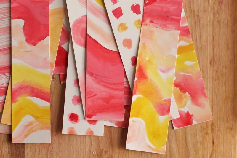 watercolor set valentine