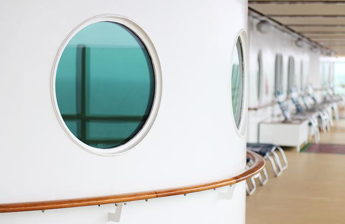 cruise - ship windows