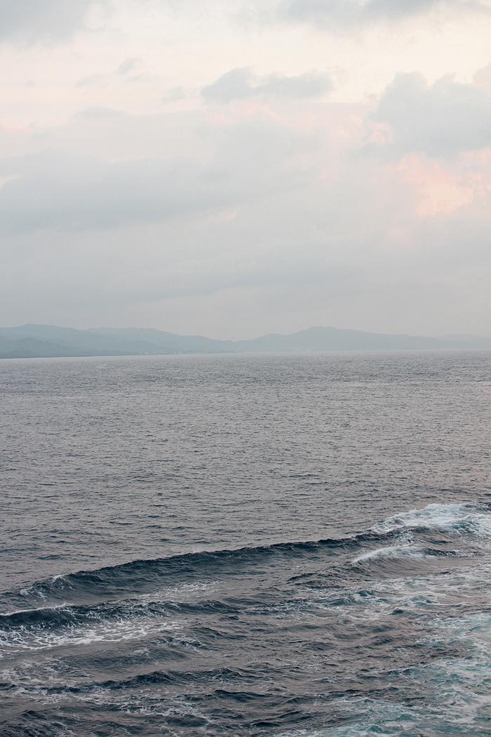 cruise - the sea