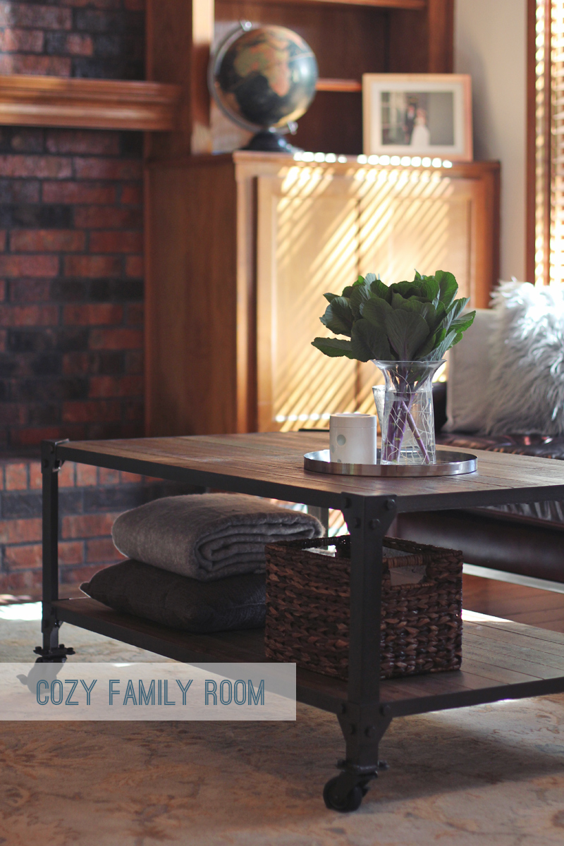 cozy family room decor