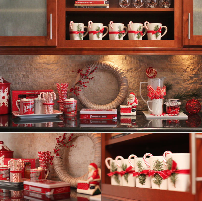 hot chocolate bar for the holidays